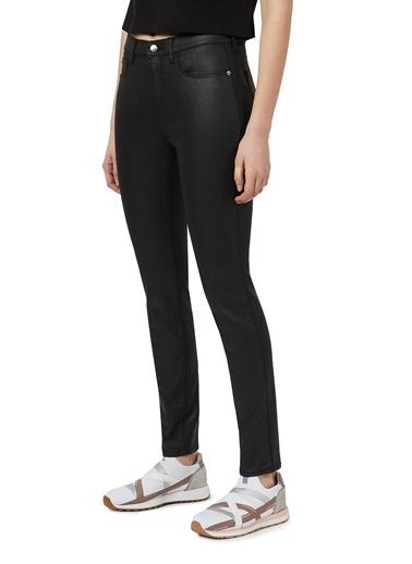 Emporio Armani  Yüksek Bel Skinny J20 Jeans Kadın Pamuklu Pantolon 3K2J20 2Nswz 0999 Siyah